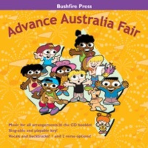 ADVANCE AUSTRALIA FAIR CD/BOOKLET