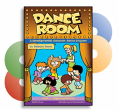 DANCE ROOM LEVEL 1 BEG BK/4CDS WITH CD ROM VIDEO