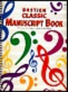 CLASSIC MANUSCRIPT BOOK 10 STAVES 64 PAGES
