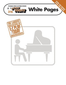 EZ PLAY 316 WHITE PAGES