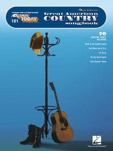 EZ PLAY 181 GREAT AMERICAN COUNTRY SONGBK 2ND ED
