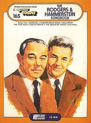 EZ PLAY 165 RODGERS AND HAMMERSTEIN SONGBK