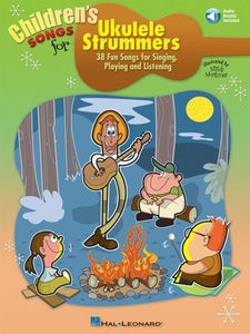 CHILDRENS SONGS FOR UKULELE STRUMMERS BK/CD