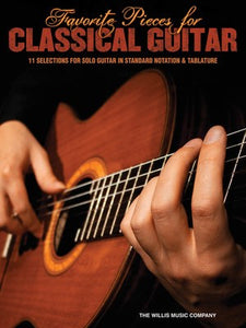 FAVORITE PIECES FOR CLASSICAL GUITAR NOTES & TAB