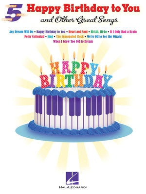 HAPPY BIRTHDAY TO YOU & OTHER GREAT SONGS 5 FING