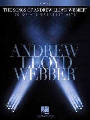 THE SONGS OF ANDREW LLOYD WEBBER VIOLIN