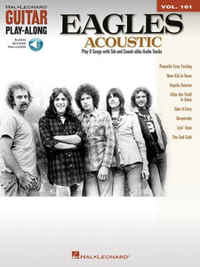 EAGLES ACOUSTIC GUITAR PLAY ALONG BK/CD V161