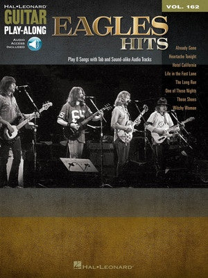EAGLES HITS GUITAR PLAYALONG V162 BK/OLA