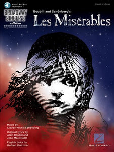 LES MISERABLES BROADWAY SINGERS EDITION BK/CD