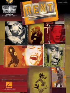 RENT BROADWAY SINGERS EDITION BK/CD