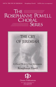 CRY OF JEREMIAH SATB