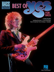 BEST OF YES BASS RECORDED VERSIONS
