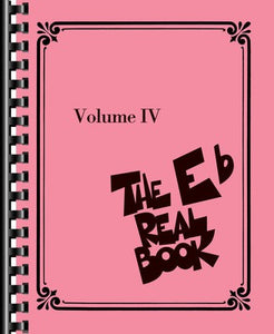 THE REAL BOOK VOL 4 E FLAT EDITION