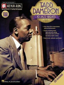 TADD DAMERON JAZZ PLAY ALONG BK/CD V168