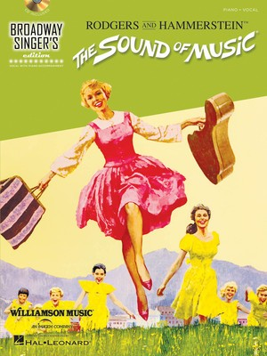 SOUND OF MUSIC BROADWAY SINGERS EDITION BK/CD