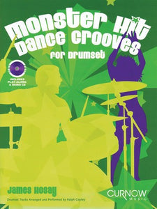 MONSTER HIT DANCE GROOVES BK/CD DRUM