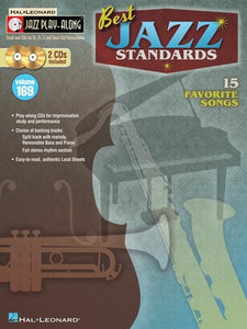 BEST JAZZ STANDARDS JAZZ PLAY ALONG BK/2CD V169