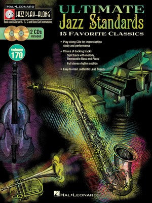 ULTIMATE JAZZ STANDARDS PLAY ALONG BK/2CD V170