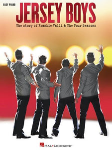 JERSEY BOYS EASY PIANO VOCAL SELECTIONS