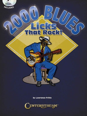2000 BLUES LICKS THAT ROCK BK/3CD