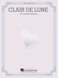CLAIR DE LUNE EASY PIANO