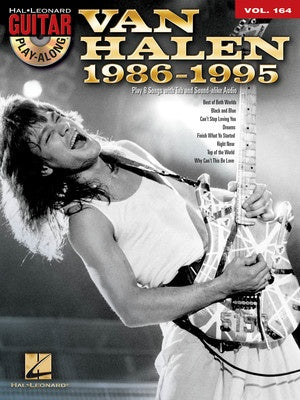 VAN HALEN 1986-1995 GUITAR PLAY ALONG V164 BK/CD