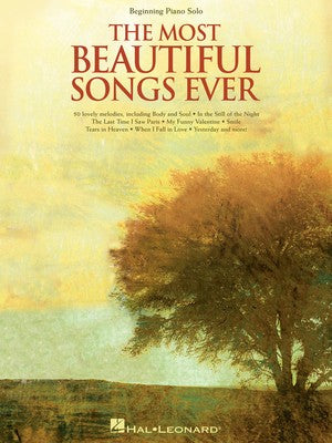 MOST BEAUTIFUL SONGS EVER BEGINNING PIANO SOLOS