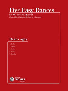 AGAY - 5 EASY DANCES WOODWIND QUINTET PARTS
