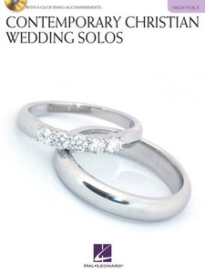 CONTEMPORARY CHRISTIAN WEDDING SOLOS BK/CD HIGH (O/P)