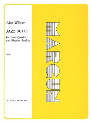 JAZZ SUITE FOR HORN QUARTET & RHYTHM SECT SCORE