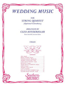 WEDDING MUSIC CELLO PART