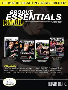 GROOVE ESSENTIALS 1.0/2.0 COMP 2BK/2DVD/2POSTER