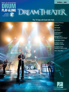DREAM THEATER DRUM PLAYALONG V30 BK/OLA