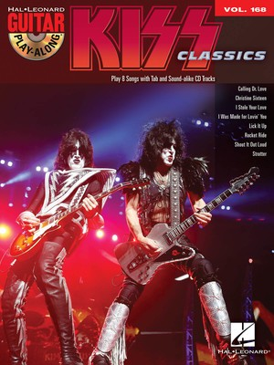 KISS GUITAR PLAY ALONG BK/CD V168