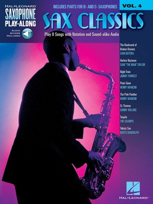 SAX CLASSICS V4 SAXOPHONE PLAY ALONG BK/CD