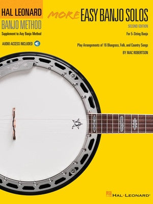 HL MORE EASY BANJO SOLOS 2ND ED W/ OLA