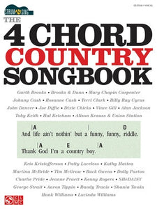 4 CHORD COUNTRY SONGBOOK STRUM & SING