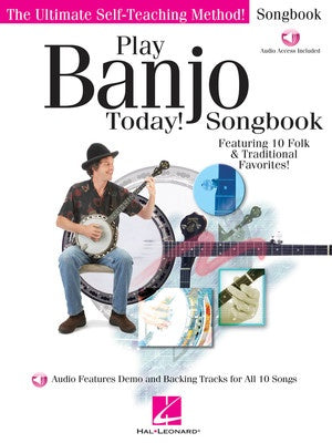 PLAY BANJO TODAY SONGBOOK BK/OLA