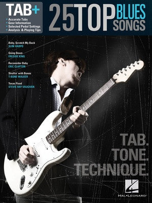 25 TOP BLUES SONGS GUITAR TAB PLUS