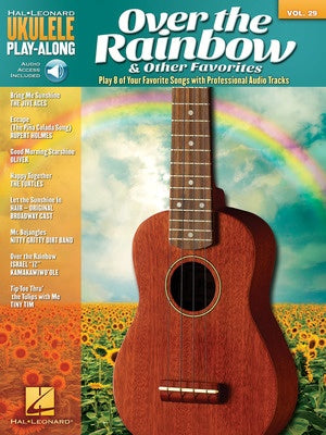 OVER THE RAINBOW & OTHER UKULELE PLAY ALONG V29