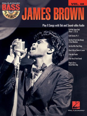 JAMES BROWN BASS PLAY ALONG V48 BK/CD