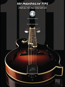 101 MANDOLIN TIPS BK/OLA