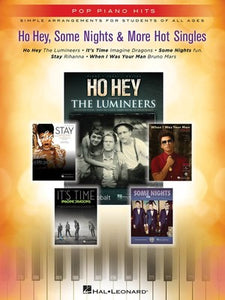 HO HEY SOME NIGHTS & 3 MORE HOT SINGLES POP PIAN