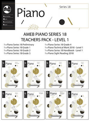 AMEB PIANO TEACHERS PACK LEVEL 1 SERIES 18