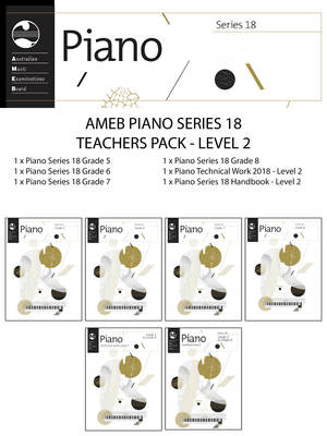AMEB PIANO TEACHERS PACK LEVEL 2 SERIES 18