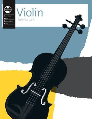 AMEB VIOLIN TECHNICAL WORKBOOK 2011