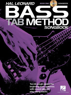 HL BASS TAB METHOD SONGBOOK 1 BK/CD