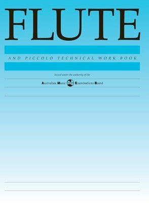 FLUTE TECHNICAL WORKBOOK 1998 AMEB