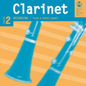 CLARINET GRADE 3 TO 4 SERIES 2 AMEB CD/NOTES