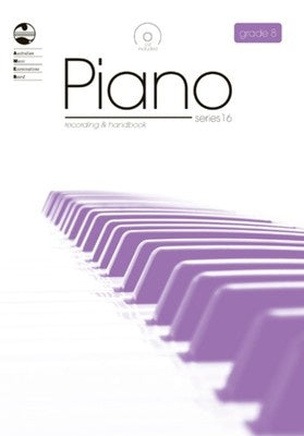 AMEB PIANO GRADE 8 SERIES 16 CD/HANDBOOK